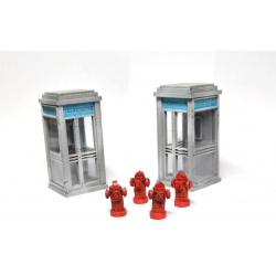 Phone Booths & Hydrants