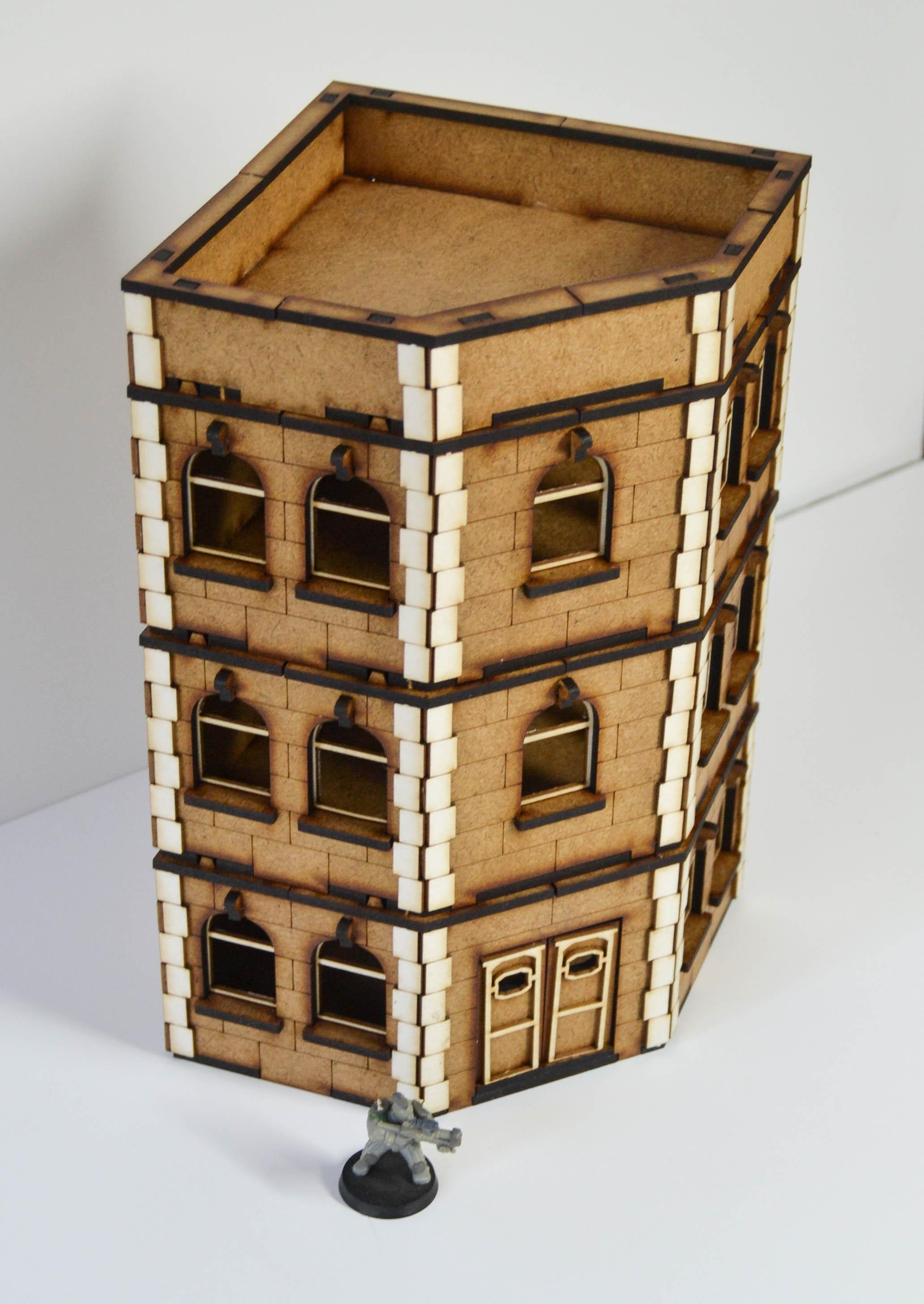 Apartment Building Agreement corner apartment building